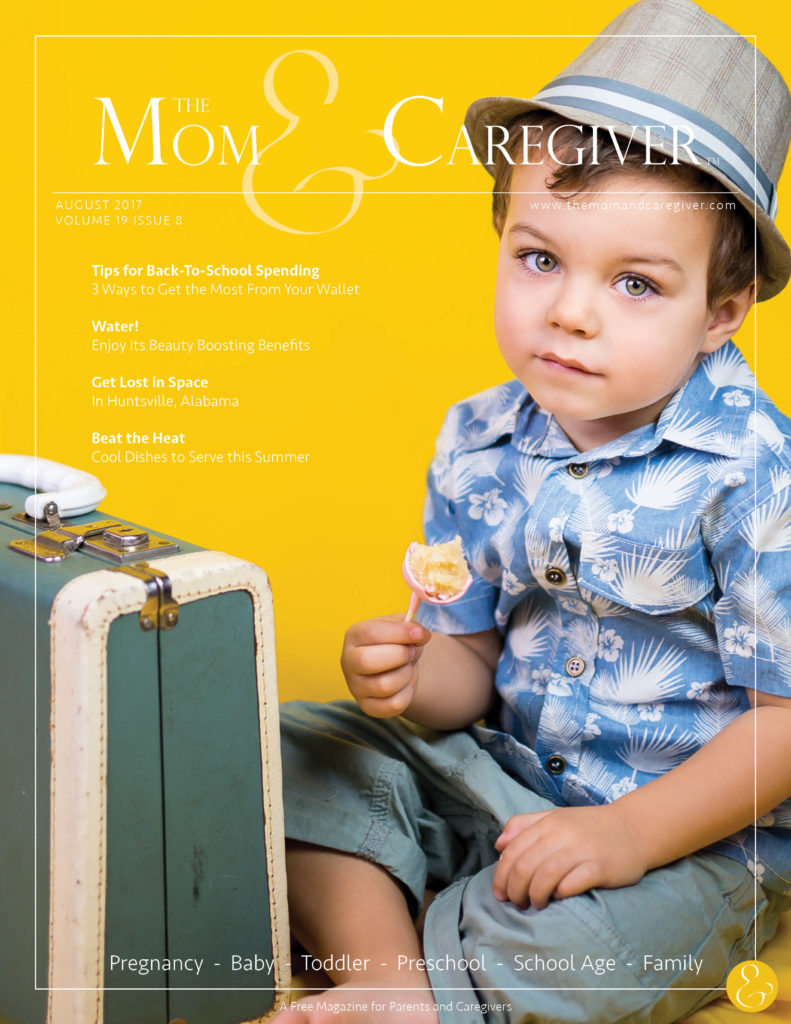 mom and caregiver august 2017 cover image