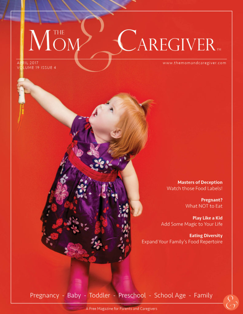 mom and caregiver april 2017 cover image