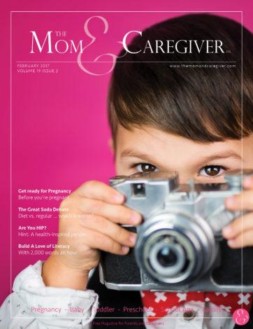 mom and caregiver february 2017 cover image