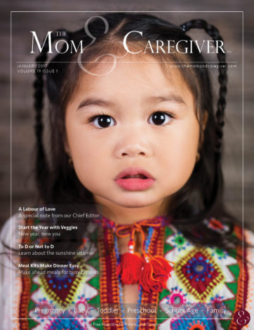 mom and caregiver january 2017 cover image