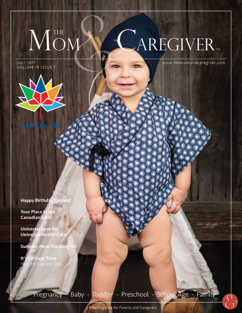 mom and caregiver july 2017 cover image