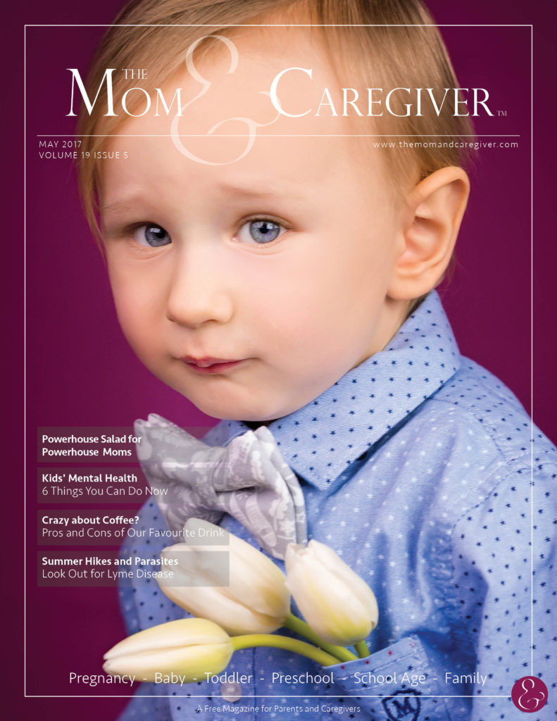 mom and caregiver may 2017 cover image