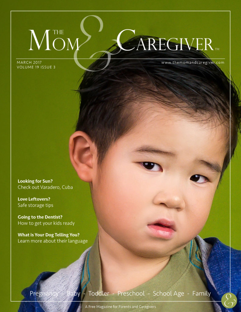 mom and caregiver march 2017 cover image