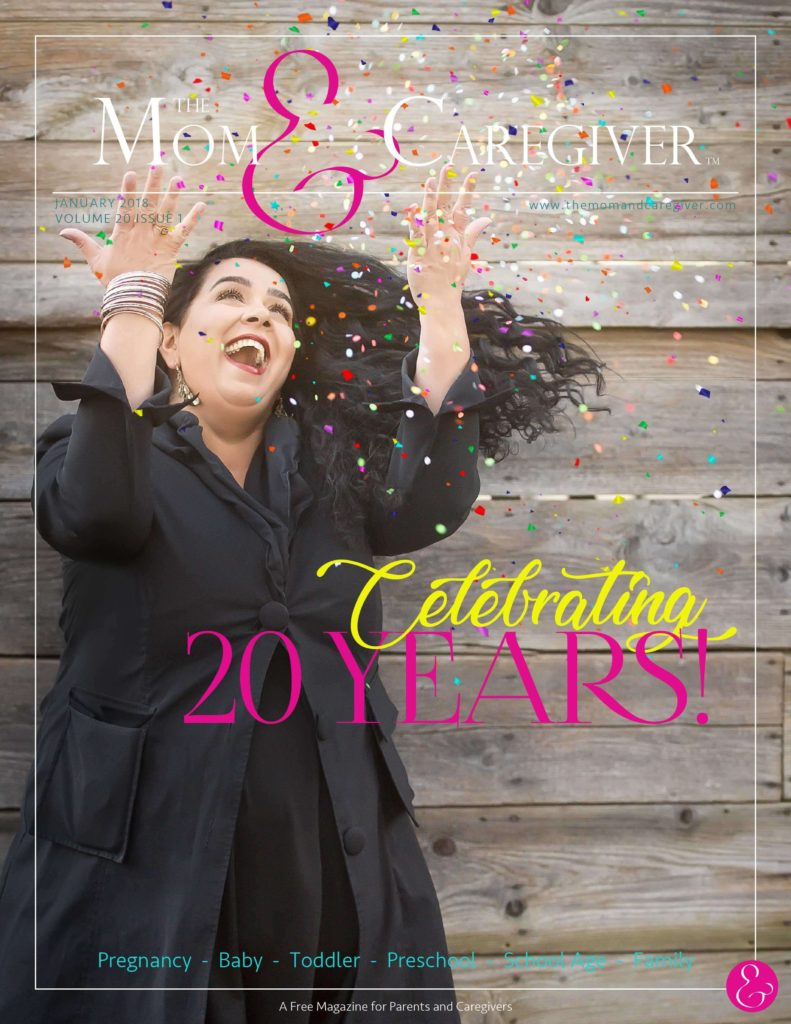 mom and caregiver january 2018 cover image