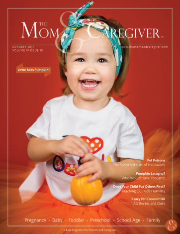 mom and caregiver october 2017 cover image